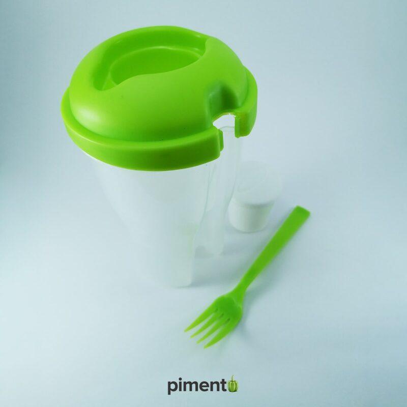 Copo para Salada / Saladeira portátil 800ml