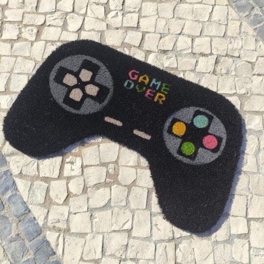 """Tapete de Entrada Comando Consola """"Game Over"""""""