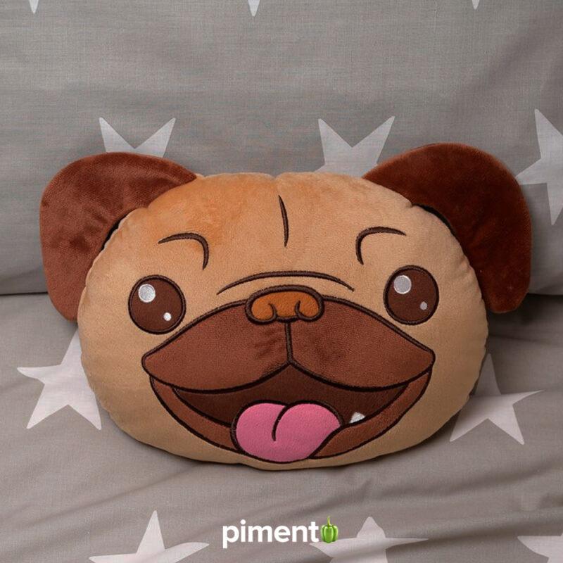 Almofada 3D Pug