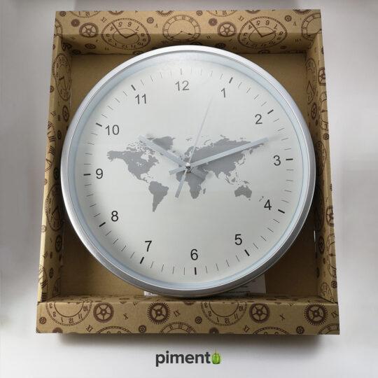 Relógio de Parede - Mundo