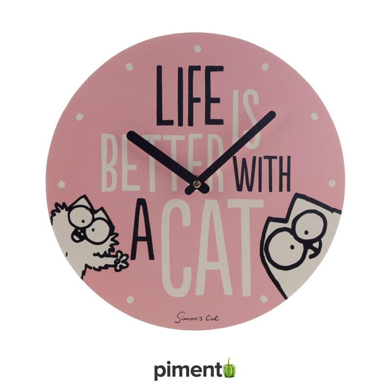Relógio de Parede Simon's Cat