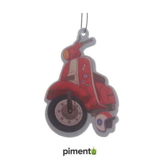 Ambientador para carro - Vespa/Scooter Vermelho