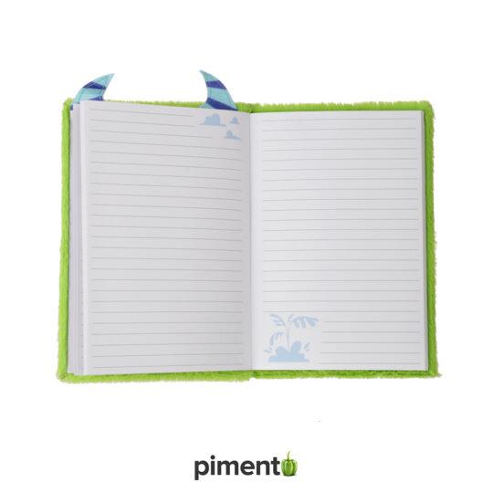 Caderno Pelinho Monstro Verde