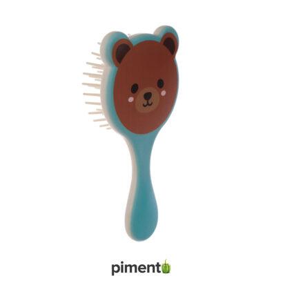 Escova para Cabelo Criança (Urso, Tigre e Panda)