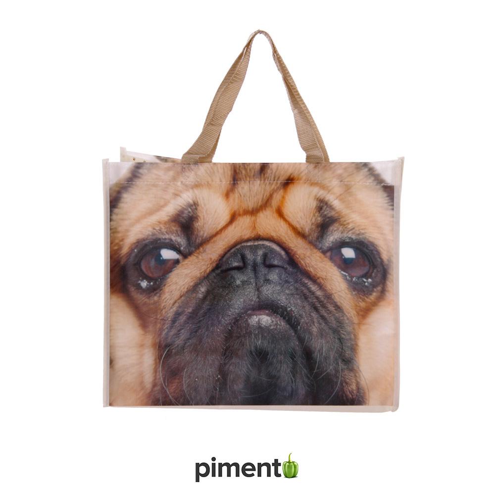Saco de Compras Pug