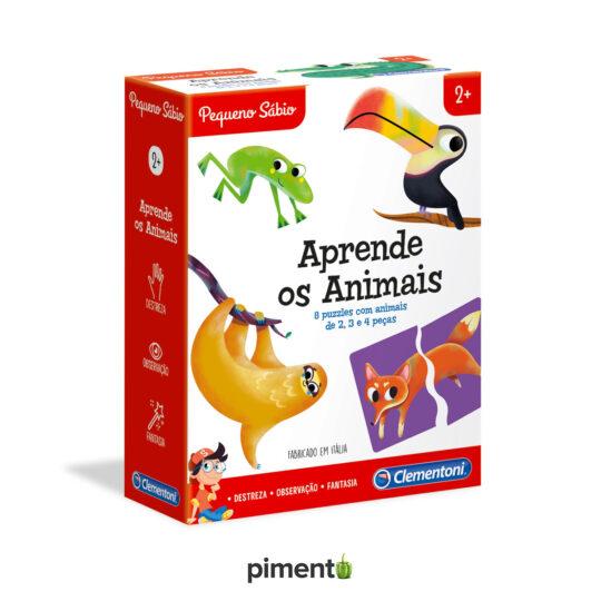 Aprende os Animais - Jogo didático e educativo