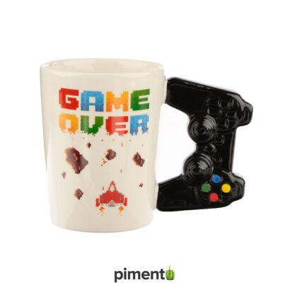 Caneca com asa Comando Consola Game Over Crush