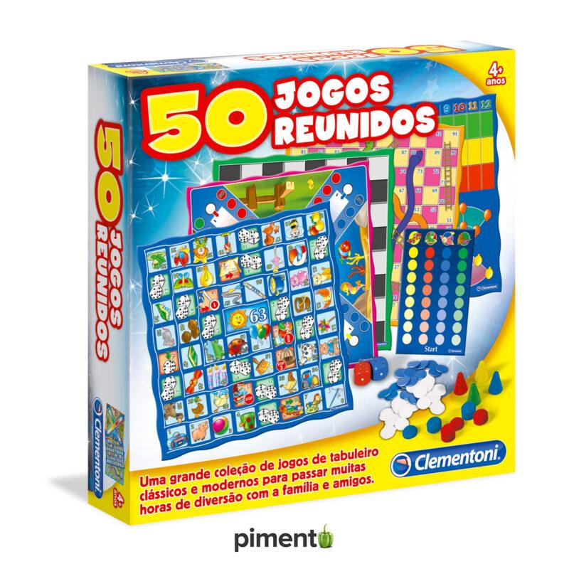 50 Jogos Reunidos - Jogos Didáticos e Educativos
