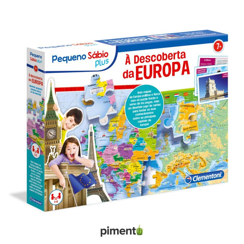 À Descoberta da Europa - Jogo Didáctico e Educativo