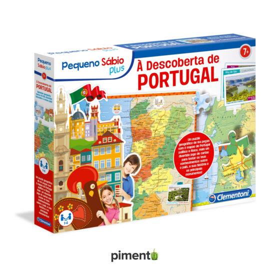 À Descoberta de Portugal - Jogo Didático e Educativo