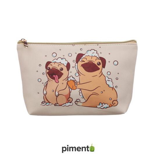 Bolsa de higiene transporte Pug