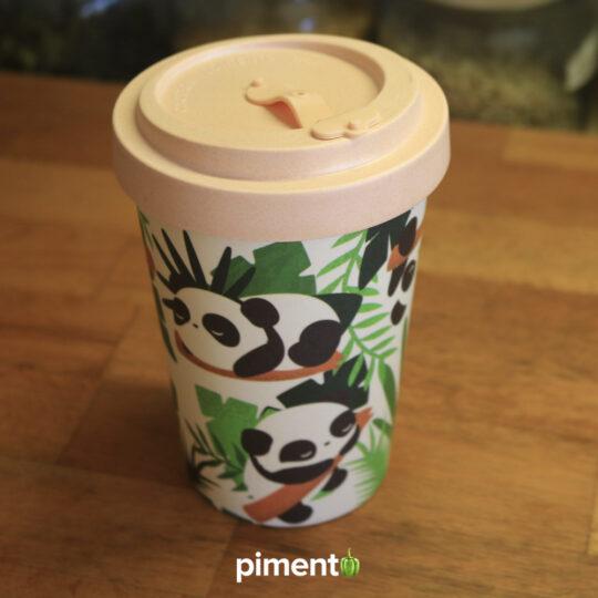 Copo em Bambu Panda - Reutilizável e Ecológico