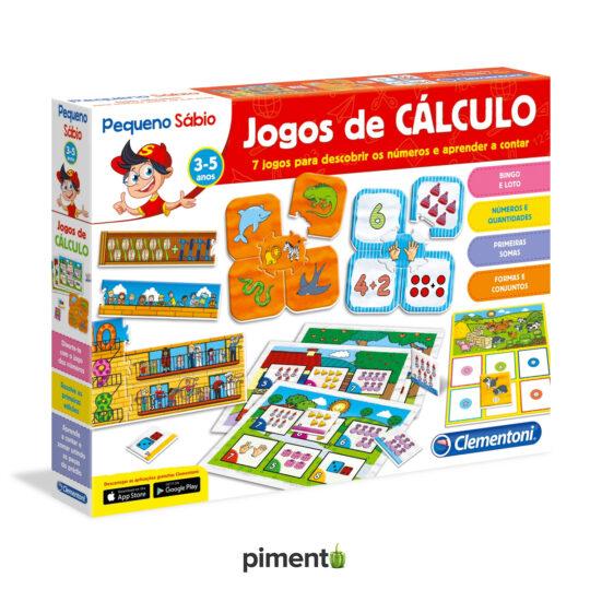 Aprende Jogos de Cálculo - Jogo Didático e Educativo