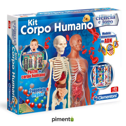 Kit Corpo Humano - Jogo Didático e Educativo