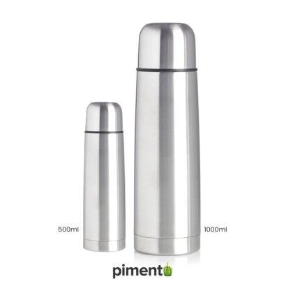 Garrafa Térmica Aço Inoxidável (500ml e 1litro)