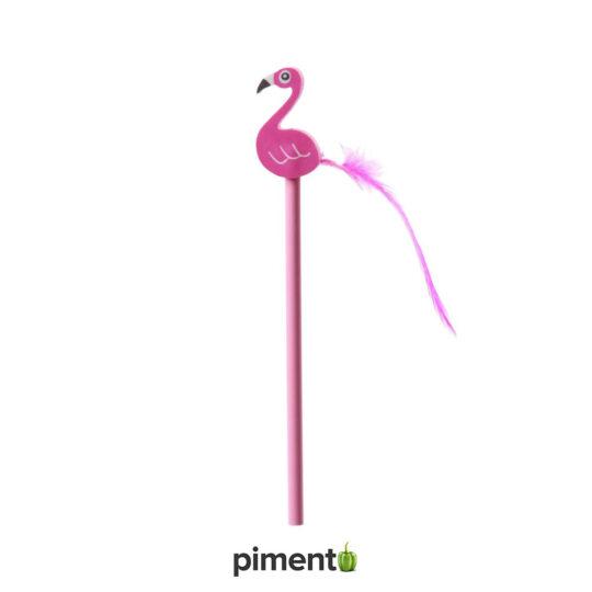 Lápis Borracha Flamingo