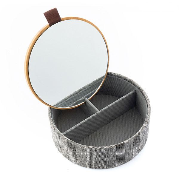 Caixa de Jóias em Bambu c/ espelho