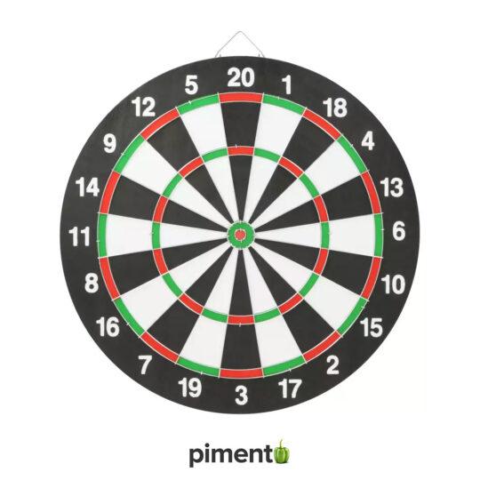 Jogo de Setas com 6 dardos 2 em 1