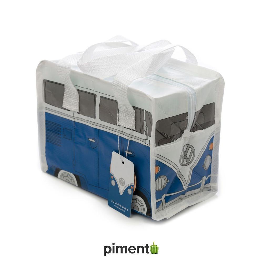 Lancheira Térmica VW Pão de Forma Azul
