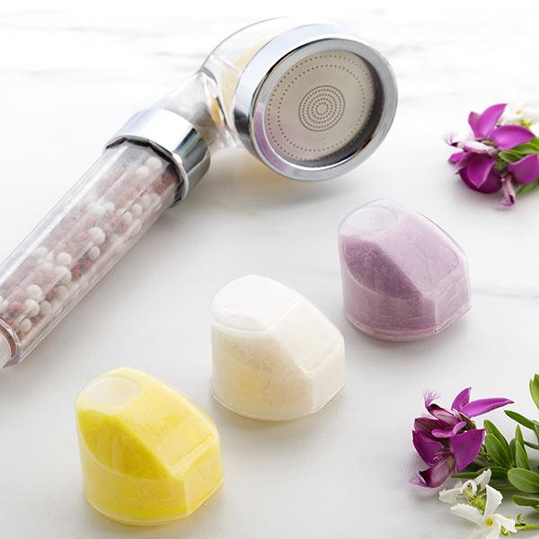 Chuveiro Ecológico Multifunções com Aromaterapia e Minerais