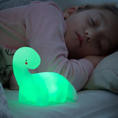 Dinossauro LED – Luz de Presença