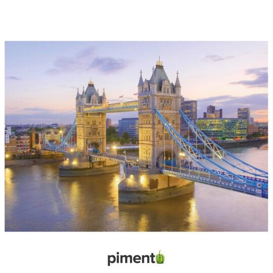 Puzzle 1000 peças - Tower Bridge Londres - Clementoni