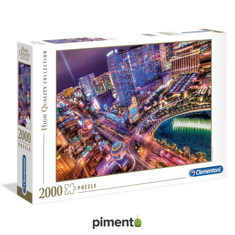 Puzzle 2000 peças - Las Vegas - Clementoni