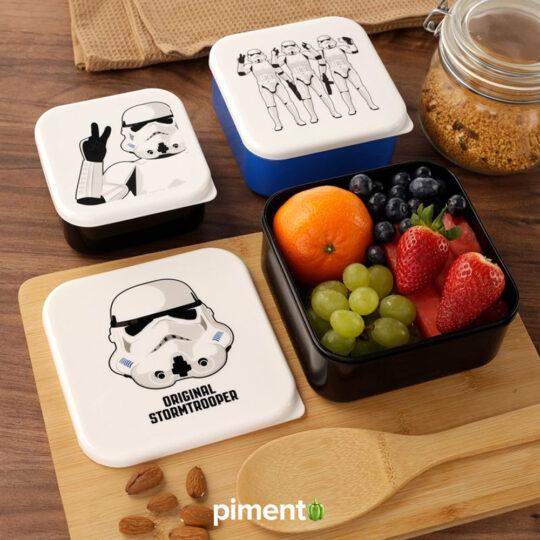 Conjunto 3 Marmitas Star Wars - The Original Stormtrooper
