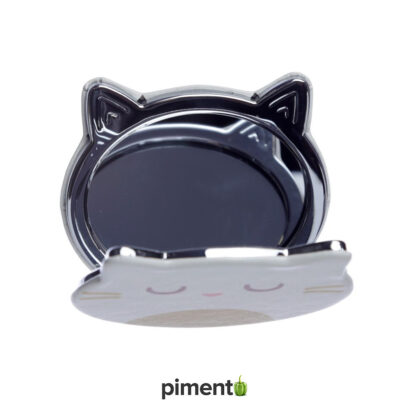 Espelho compacto de bolsa - Gato