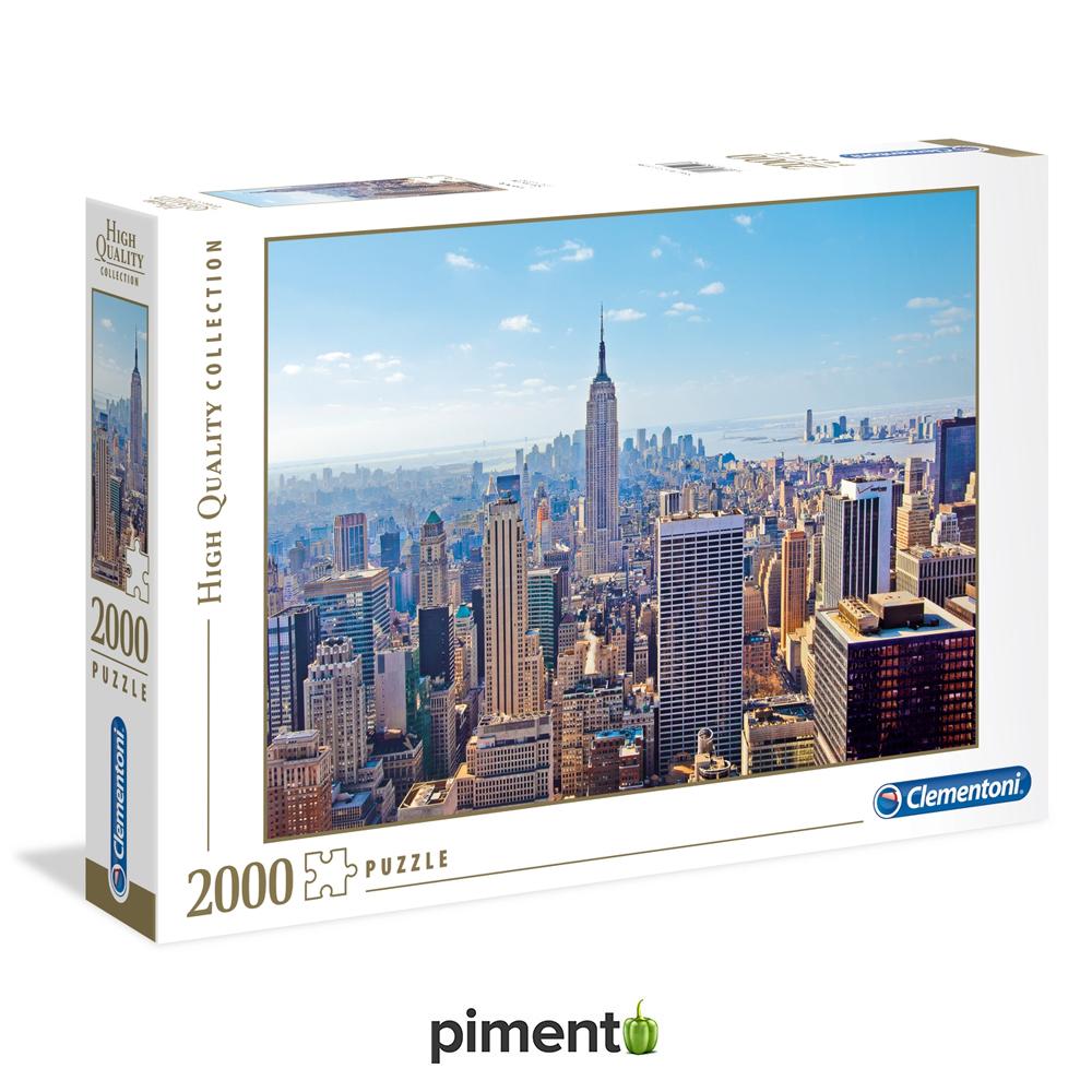 Puzzle 2000 peças - Nova Iorque - Clementoni