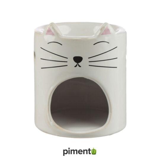 Queimador Aromaterapia Gato