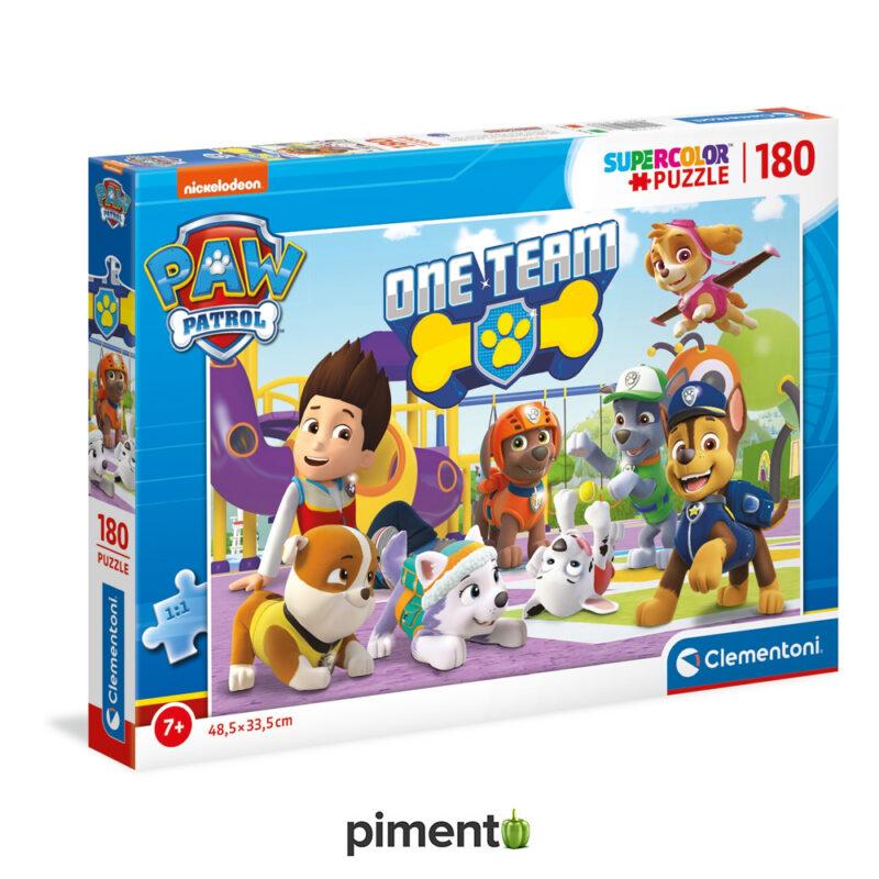 Puzzle Patrulha Pata - 180 peças - Clementoni